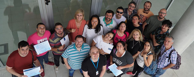 Capacitación del Campus Virtual a Parques Educativos Municipalidad de Córdoba