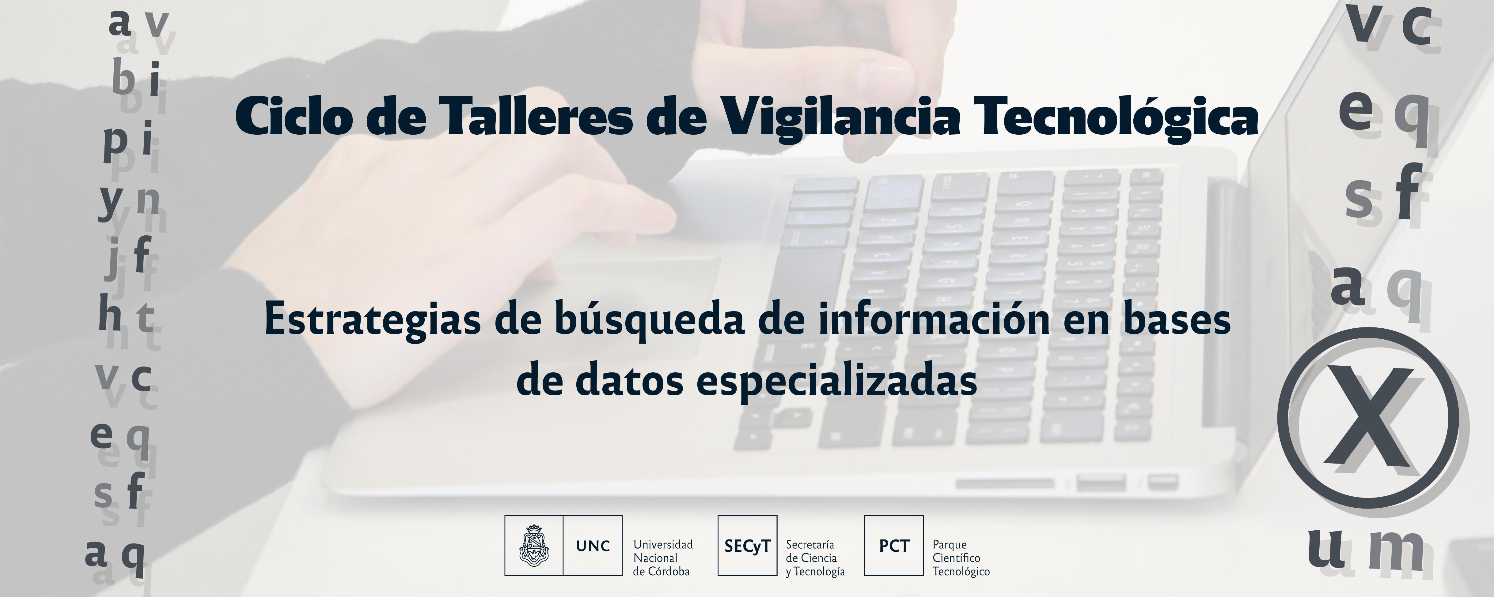 Ciclo talleres de vigilancia tecnológica
