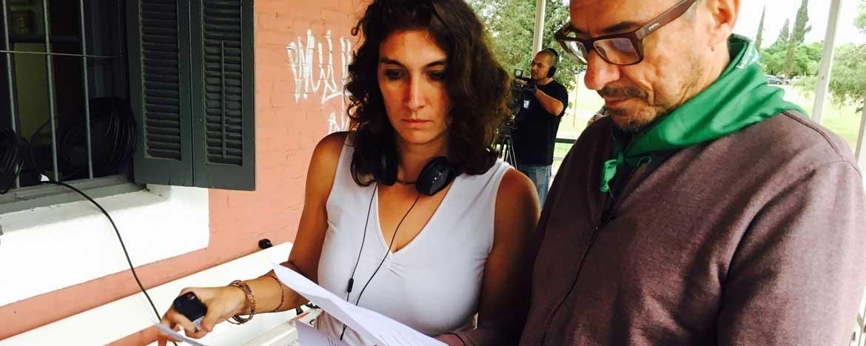 Imagen invitado Mattio junto con productora del programa