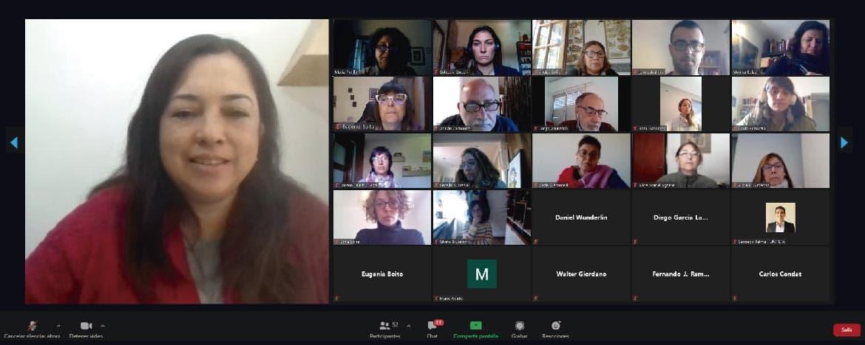 Reunión virtual entre referentes de los Institutos de investigación de la UNC con la UNICEPG
