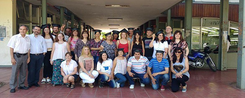 Grupo de alumnos del programa de adultos